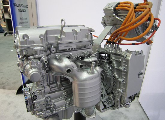 1.4L engine that is used in the Volt exclusively for power generation