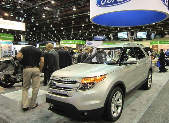 Cut model of the New Explorer