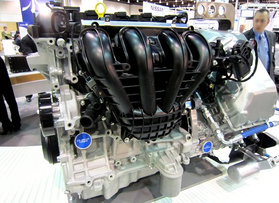 In-line 4-cylinder 2.0L Atkinson cycle engine and CVT for PHEVs