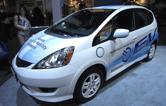 FIT EV planned to be marketed in 2012