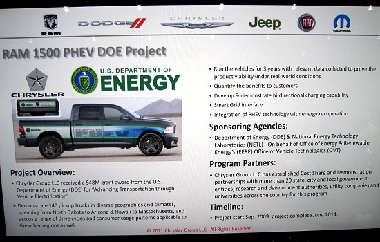 Summary of RAM1500 PHEV DOE project