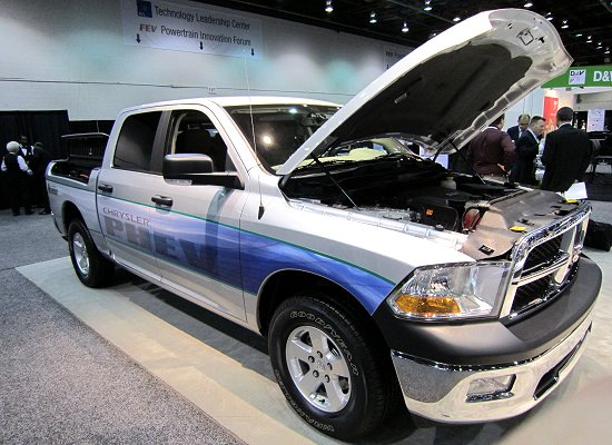PHEV based on Dodge RAM 1500 truck