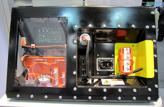 Water-cooled Li-ion battery for HEV passenger cars