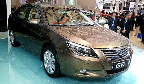 BYD Auto's G6