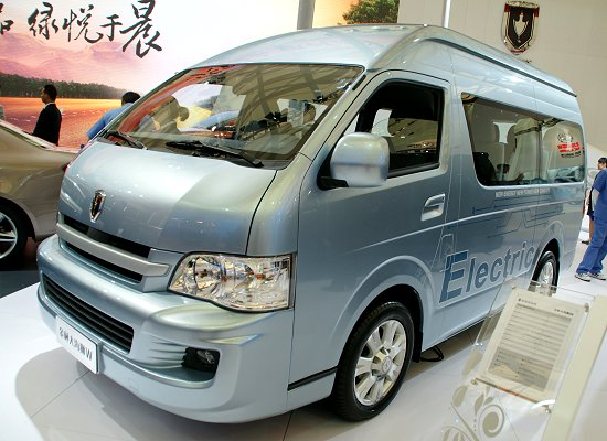 Brilliance Automobile Group's Jinbei Haise W