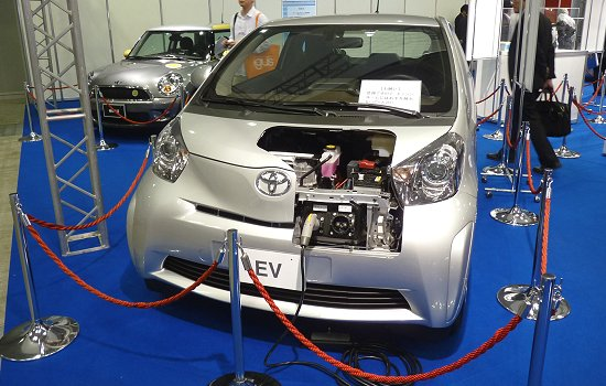 Toyota's concept EV based on the iQ