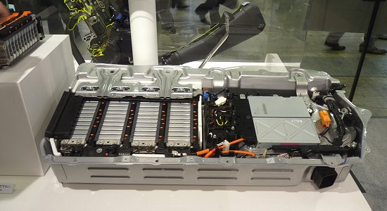 Honda's first Li-ion battery for mass-production models