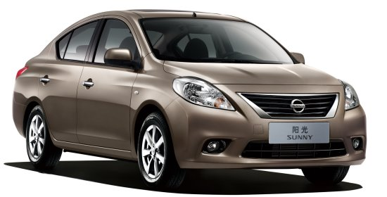 Sunny Sedan launched in China in January 2011