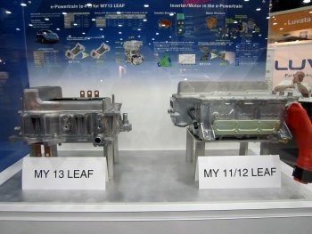 Nissan Leaf e-PT size improvements