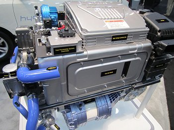 Hyundai fuel cell stack and components