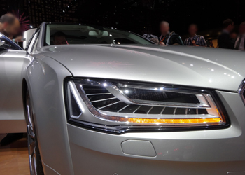 Audi A8 Audi Matrix LED headlights
