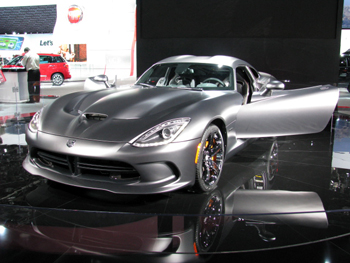 SRT Viper GTS Anondized Carbon Package