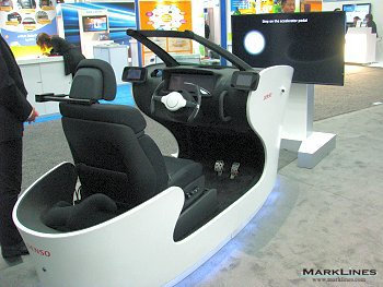 Denso Interactive Communication Cockpit