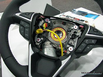 Active Steering Wheel system for Ford Edge