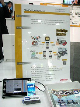 Denso's NaviBridge application