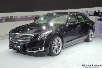 Exterior appearance of the CT6