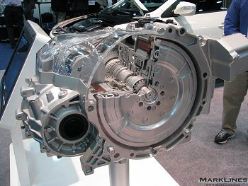 Motor Integrated 6-speed automatic transmission