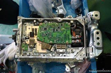 Multi-layered circuitry in the PCU