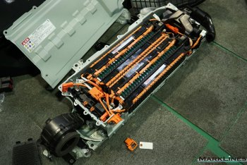 Internal structure of the battery