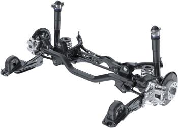 Multi-link rear suspension