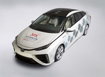 Mirai-based research vehicle