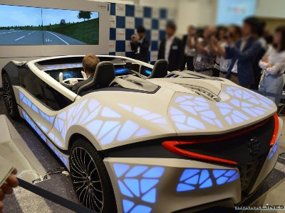 A Bosch concept car makes its Japan debut:2021年のHMIのビジョンを占めす。