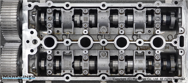 Engine camshaft of the