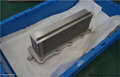 Water-cooled intercooler
