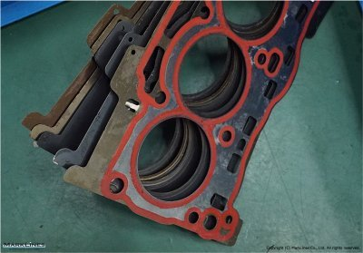 Five cylinder head