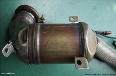 No.1 catalytic converter