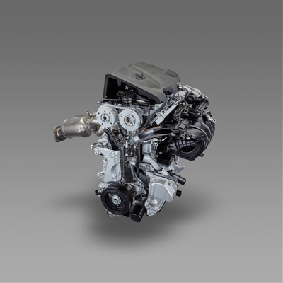 (トヨタ資料: 2.5L Dynamic Force Engine)