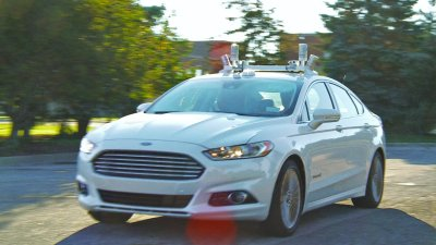 Autonomous driving test