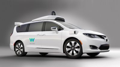 Autonomous driving test vehicle based on the Chrysler Pacifica