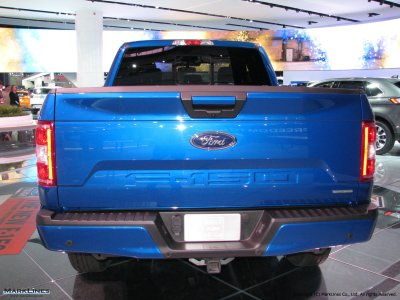 Ford F-150 Rear View