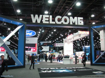 WCX17 exhibit floor entrance
