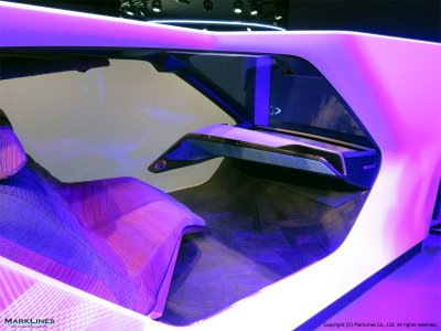 BMW i Interaction EASE concept