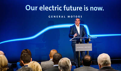 Our electric future is now