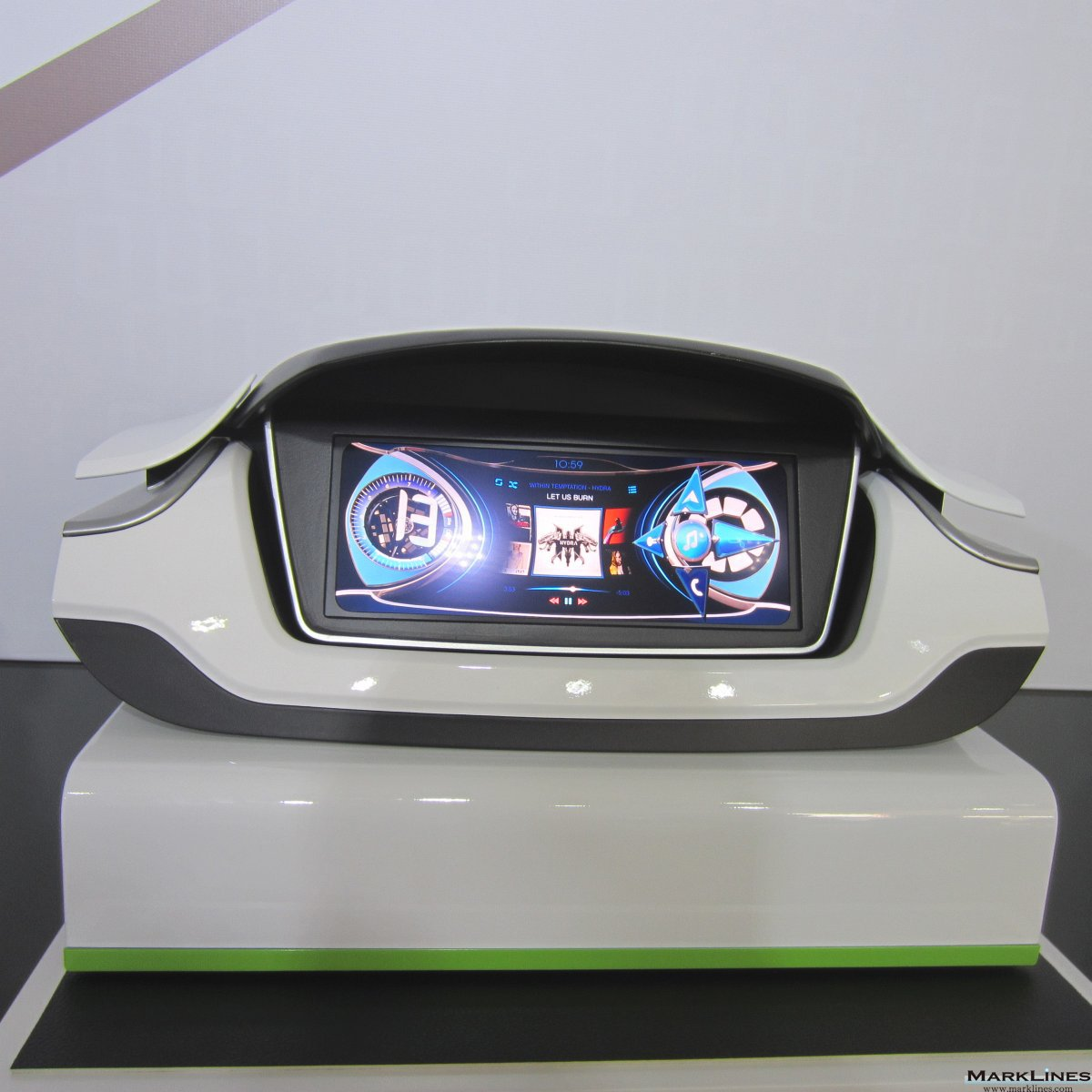 Visteon Corporation Marklines Automotive Industry Portal Motorcyle Alarm 8211 The Circuit Board And Switches Must Be Protected From Elements 2016 Auto China Beijing International Exhibition