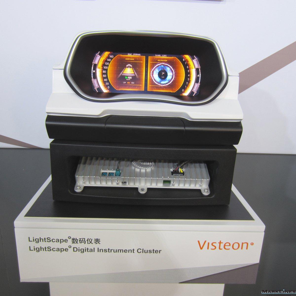 Visteon Corporation Marklines Automotive Industry Portal Project For 20 Or 40 Watt Fluorescent Tubes 8211 Inverter Logo
