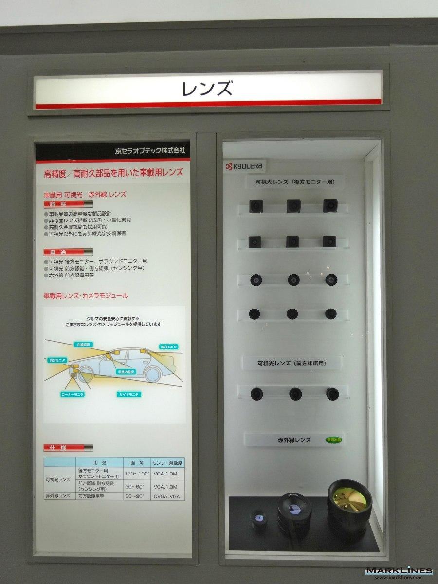 Parts manufacturer base detail:Kyocera Corporation[Japan