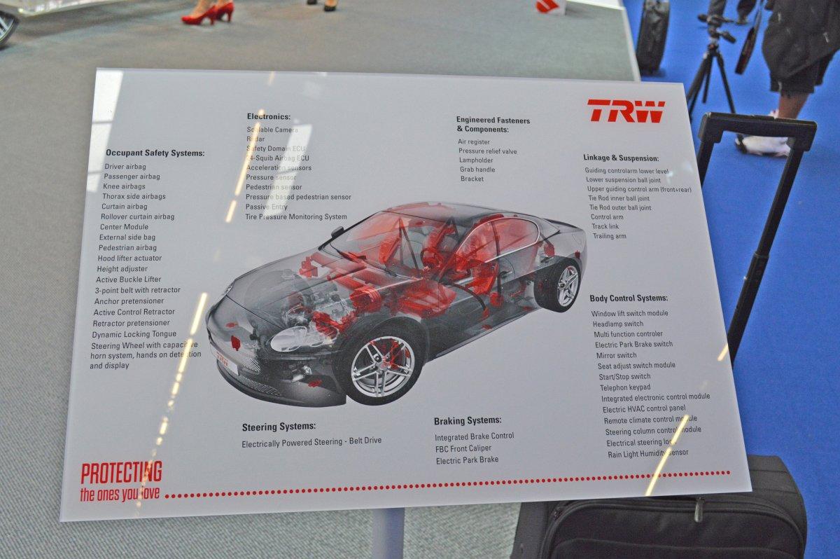 Archives Of Past Exhibits Zf Trw Automotive Holdings Corp Vw Beetle Volkswagen Balljoint Front Suspension Diagram 2013 Iaa Frankfurt Motor Show