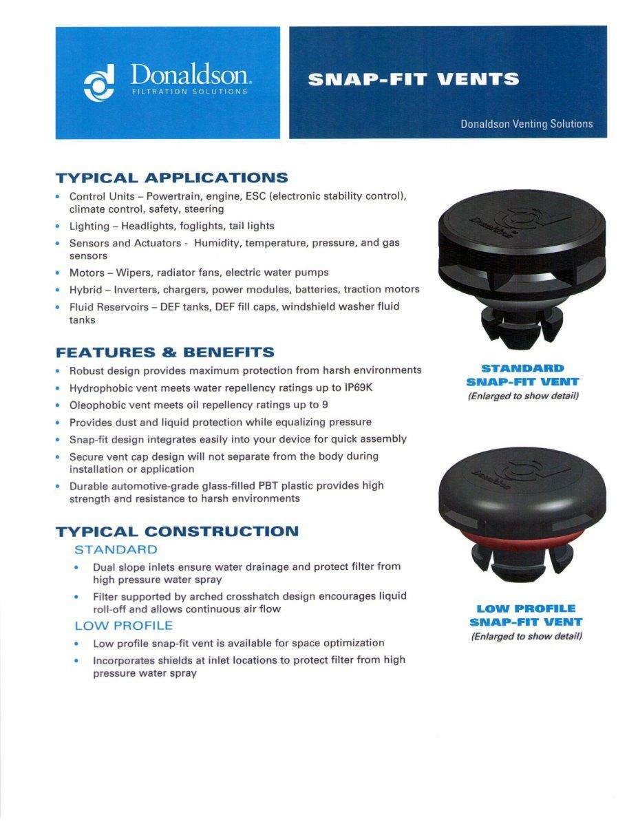 Donaldson Company Inc Marklines Automotive Industry Portal 2006 Ford Fuel Filter Cap Logo