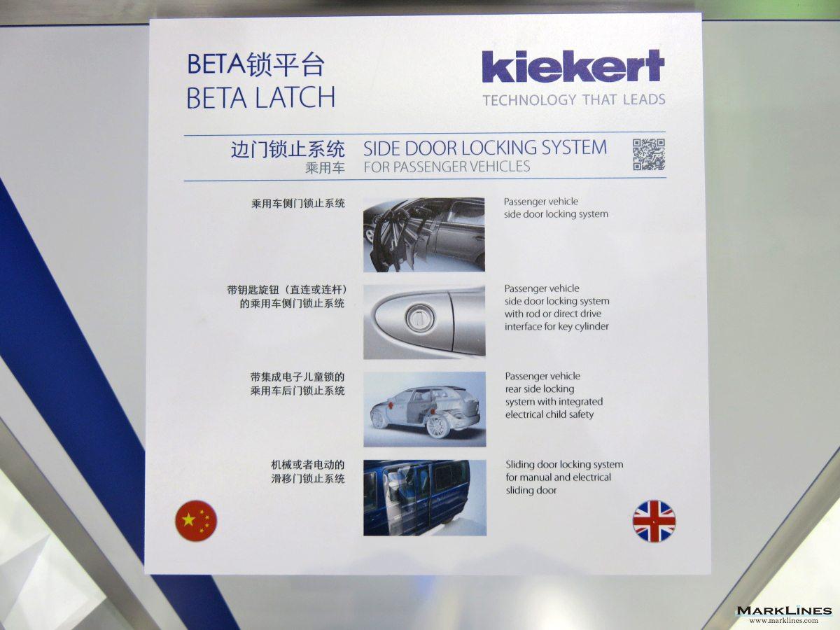 Kiekert AG - MarkLines Automotive Industry Portal